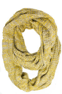 knit scarves that pop
