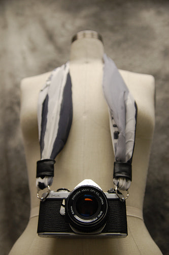 Make a Camera Strap from Scarf