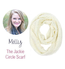 Molly the Jackie Circle Scarf