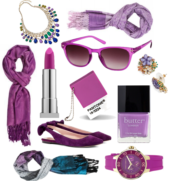 Pantone-Colored Scarves and Accessories
