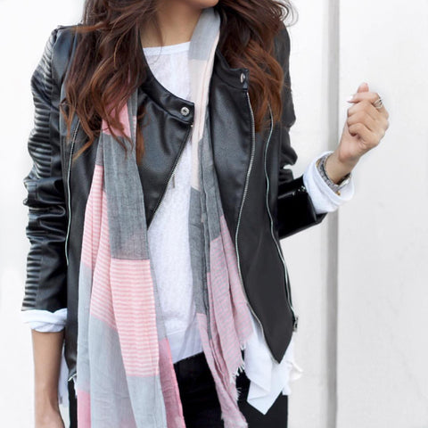 Pauline Soft Multi Stripe Scarf