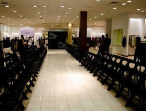 Saks Fifth Avenue during FNO Indianapolis