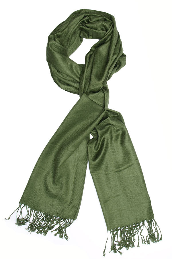 Solid colored Pashmina