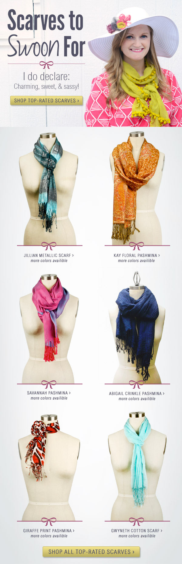 Swoon-Worthy Scarves