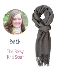 The Besty Knit scarf
