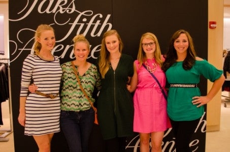 The SDN Gals Attend Fashion's Night Out Indy!