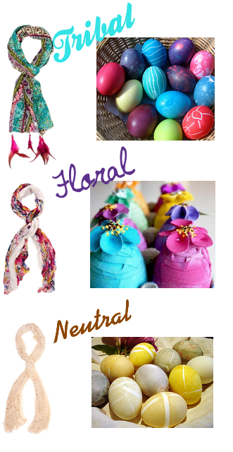 Tribal Scarf  . Floral Scarf .  Neutral Scarf