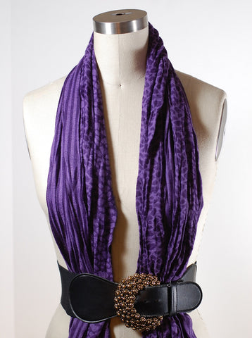 belted scarf