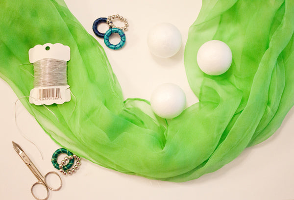scarf necklace DIY