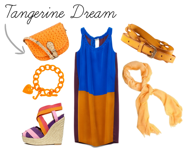 Outfit and accessories for the Tangerine Dream Look