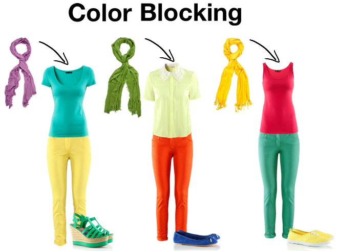 what is color blocking