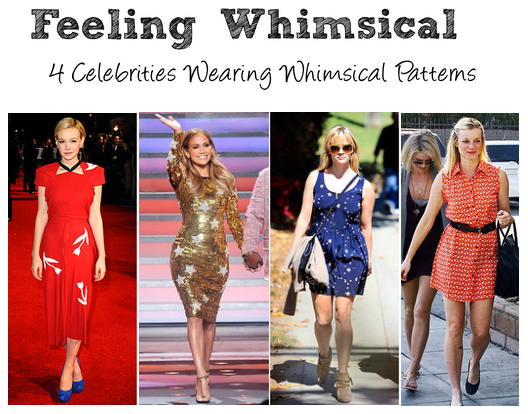 4 Celebrities Wearing Whimsical Patterns