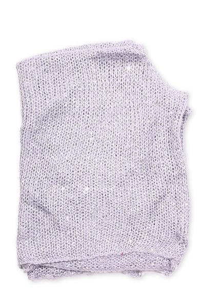 Angelina Sequined Poncho Grey