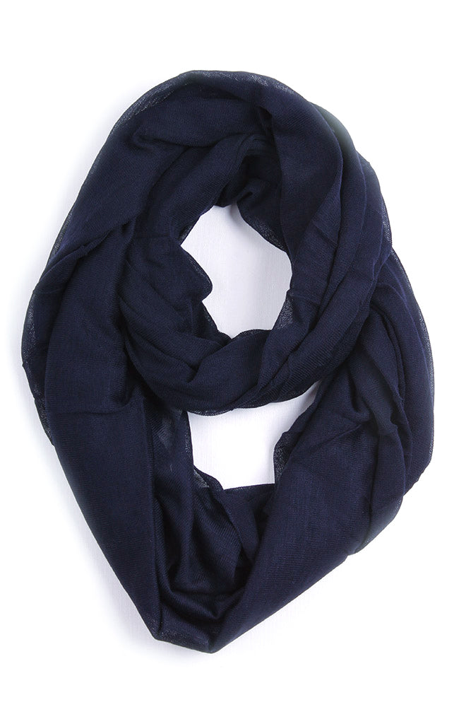 Avery Infinity Scarf Blue