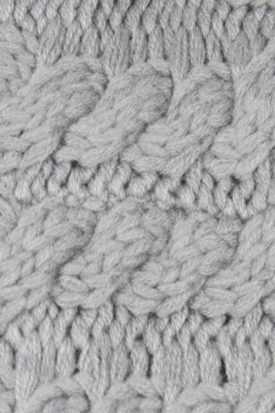 Beckham Cable Knit Headband Grey