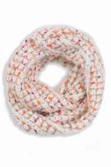 Blanche Colorful Crochet Infinity Scarf