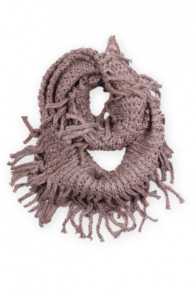 Brenna Winter Scarf Beige