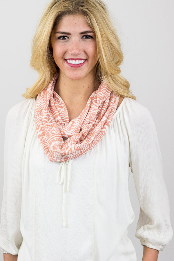 Candace Nordic Infinity Scarf