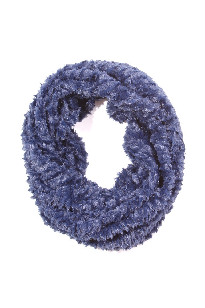 Carolee Infinity Scarf Navy