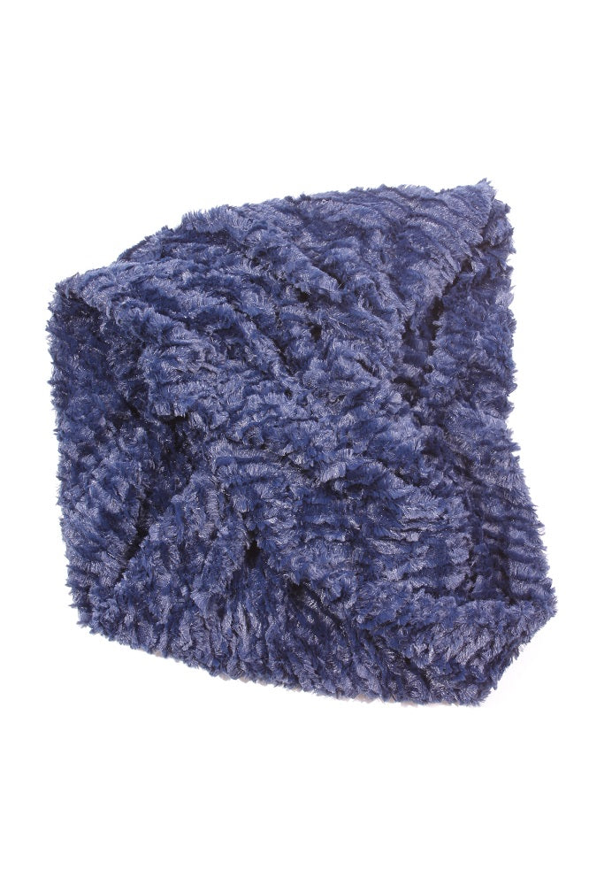 Carolee Infinity Scarf Navy 2