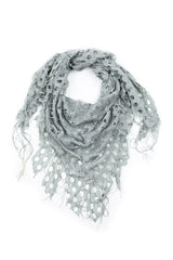 Delilah Textured Triangle Scarf