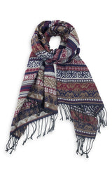 Dolly Southwestern Blanket Scarf
