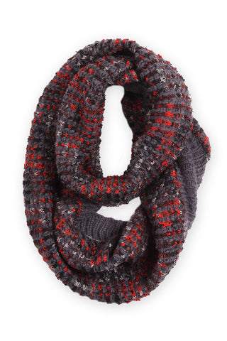 Grace Infinity Scarf Gray