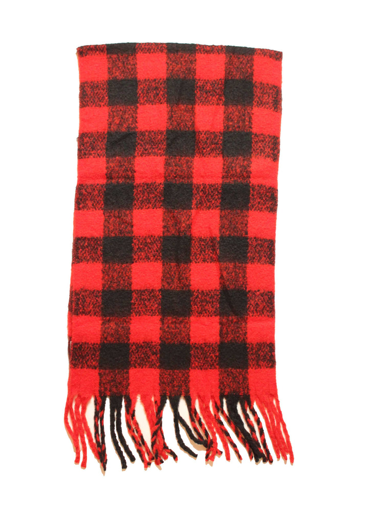 Justine Buffalo Plaid Flannel Scarf