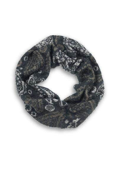 Kelly Soft Finge Infinity Scarf Sage Green