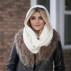Kendall Hooded Scarf