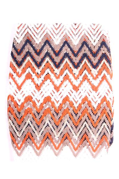 Layne Infinity Scarf Orange Multi