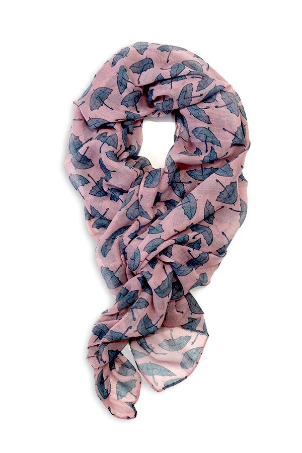 Milly Umbrella Scarf Pink