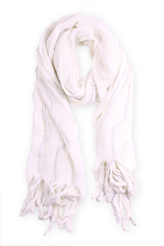 Miranda Neck Scarf White