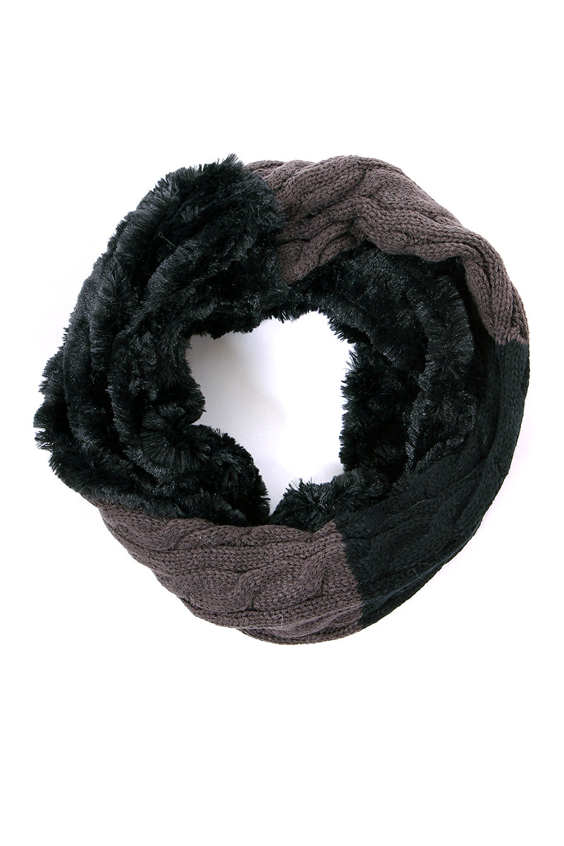 Morgan Neck Scarf-Black