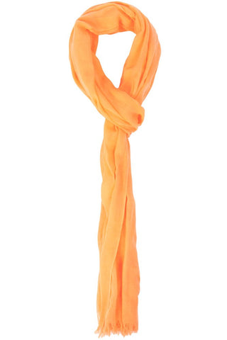 Nicole Cotton Scarf Orange