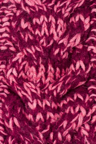 Phyllis Cable Knit Headband Pink / Purple