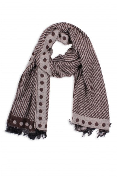 Radley Blanket Scarf Brown