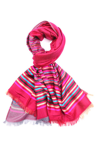 Sadie Neck Scarf-Burgundy