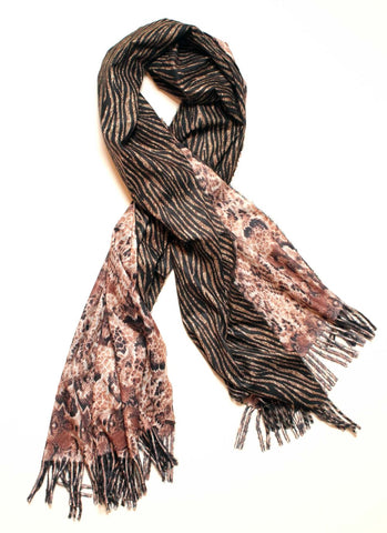 Willa Tiger Snake Scarf