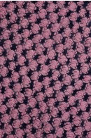 Trudy Popcorn Knit Infinity Scarf Pink Closeup