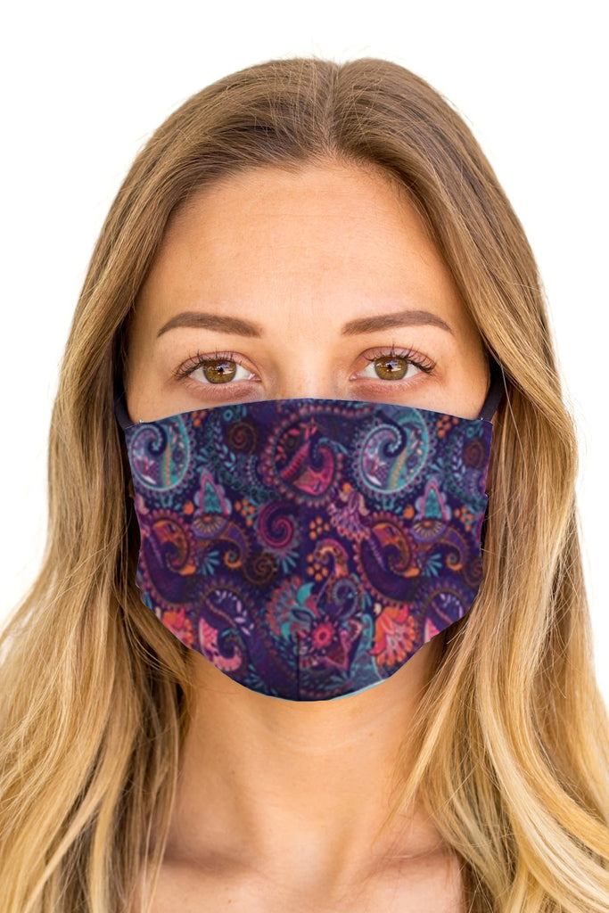 Multi Paisley Cloth Mask