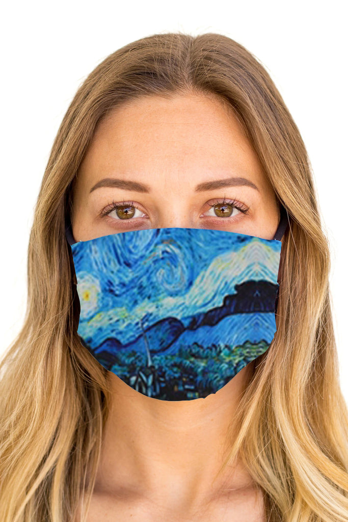 Starry Night Cloth Mask