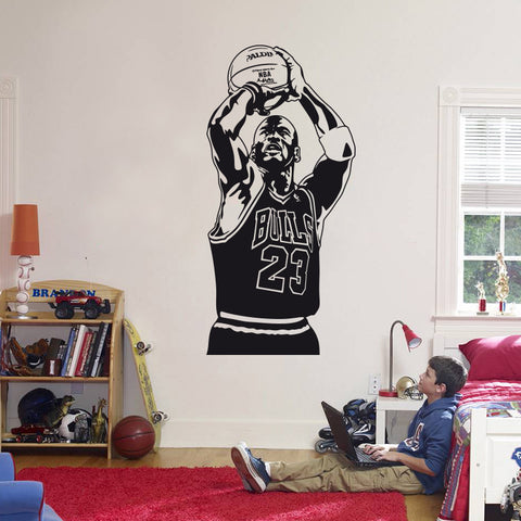 Basketball 2016 New design Michael Jordan Wall Sticker