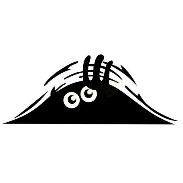 Peeking Monster Car Sticker vinyl decal sticker