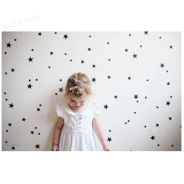 Stars Pattern Decals ( various colours) Nursery Room Decoration