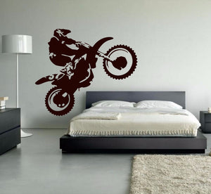 Motocross Vinyl Wall Decal