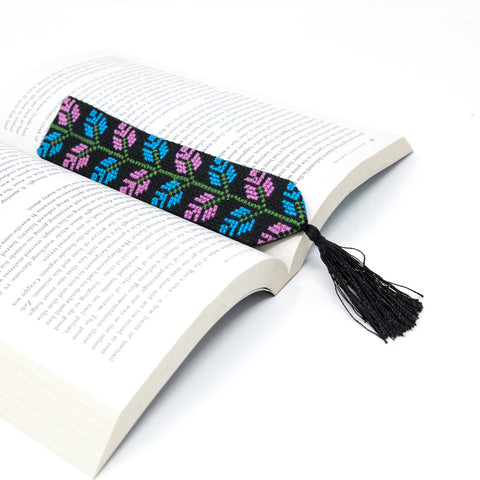 Tight Knit Syria embroidered bookmark