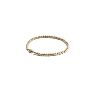 gold beaded bracelet clasp