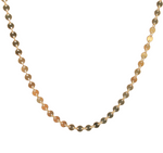 Gold Coin Necklace Choker