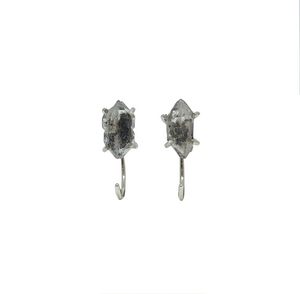 Herkimer Diamond Earrings Silver